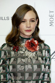 Carey Mulligan kept it demure with this neat, wavy 'do at the Moet British Independent Film Awards.