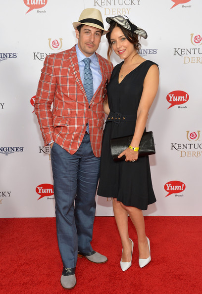 Jenny Mollen looked simply stylish in a sleeveless LBD at the Kentucky Derby Moet & Chandon toast.