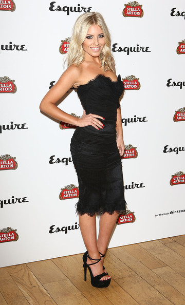 Mollie King Little Black Dress