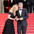 Julia Roberts (in Armani Prive) and George Clooney at the 2016 Cannes Film Festival