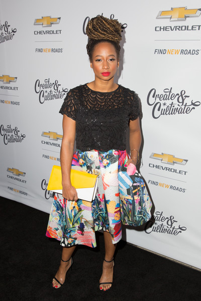 Monique Coleman Knee Length Skirt