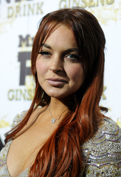 More Pics of Lindsay Lohan Long Wavy Cut (1 of 35) - Long Wavy Cut Lookbook - StyleBistro