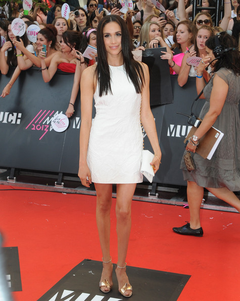 Megan Markle at the MuchMusic Video Awards