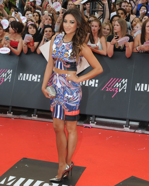 Shay Mitchell at the MuchMusic Video Awards