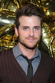 Jared Followill made bed hair look so gorgeous at the anniversary celebration of Mulberry.