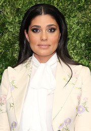 Rachel Roy attended the Museum of Modern Art's film benefit wearing her signature center-parted style.