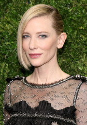 Cate Blanchett graced the Museum of Modern Art's film benefit wearing a sleek updo that looked like a half-pinned bob.