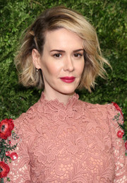 Sarah Paulson pulled off this messy look at the Museum of Modern Art's film benefit.