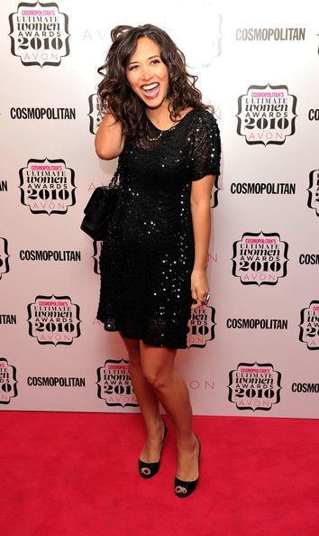 Myleene Klass Little Black Dress