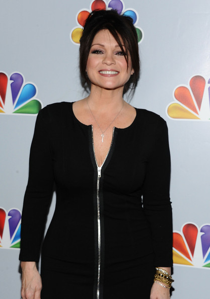 More Pics of Valerie Bertinelli Bobby Pinned Updo (2 of 6) - Valerie Bertinelli Lookbook - StyleBistro