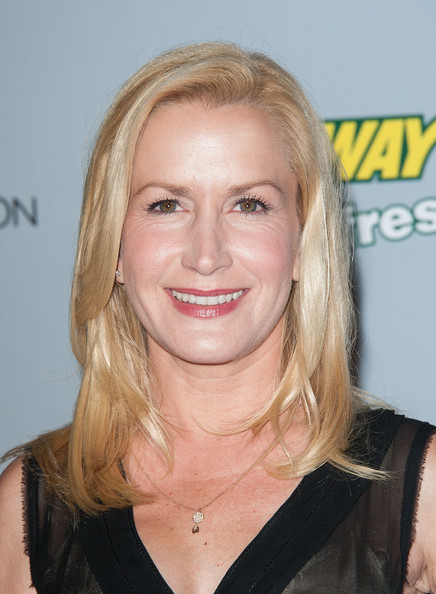 More Pics of Angela Kinsey Medium Layered Cut (1 of 15) - Shoulder Length Hairstyles Lookbook - StyleBistro