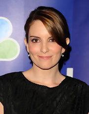 Tina Fey showed off her sleek bun at the NBC Upfront Presentation.