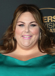 Chrissy Metz showed off a glamorous half updo at the NBC and Universal Emmy nominee celebration.