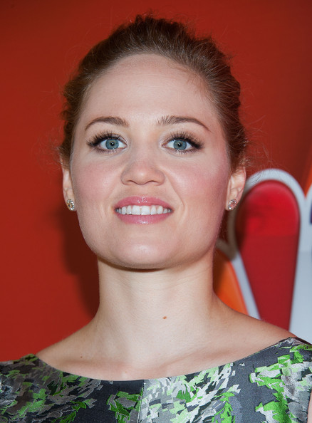 More Pics of Erika Christensen Classic Bun (1 of 11) - Updos Lookbook - StyleBistro