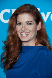 Debra Messing sported gorgeously sculpted, bouncy curls during NBCUniversal's Summer TCA Tour.