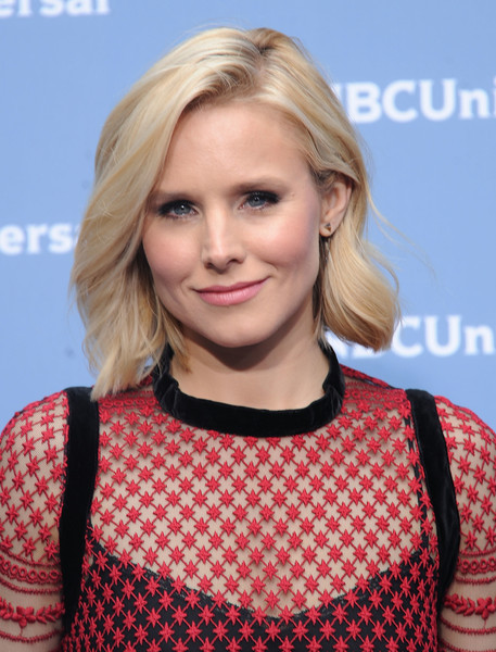 Kristen Bell kept it short and sweet with this wavy bob at the NBCUniversal Upfront.