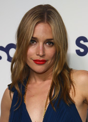 Piper Perabo went for boho romance with this gently wavy center-parted 'do at the NBCUniversal Cable Entertainment Upfronts.