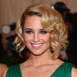 Dianna Agron's Pin Curls