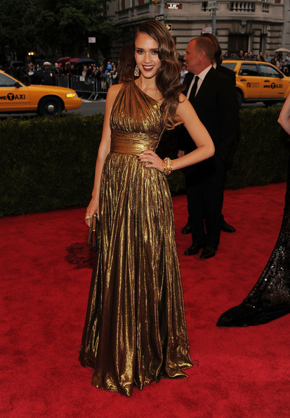 Golden Michael Kors at the Met Gala 2012