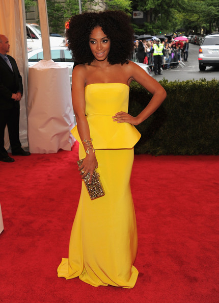 More Pics of Solange Knowles Strapless Dress (3 of 13) - Dresses & Skirts Lookbook - StyleBistro
