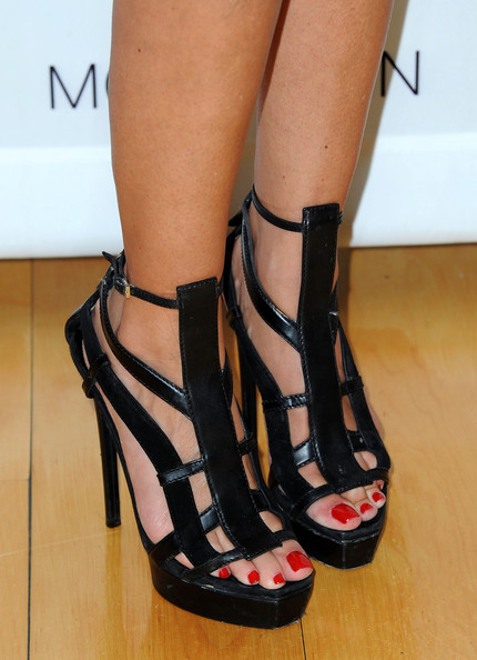 More Pics of Allison Melnick Platform Sandals (1 of 4) - Allison Melnick Lookbook - StyleBistro