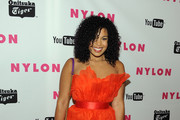 Singer Jordin Sparks arrives at NYLON Magazine's May Young Hollywood Issue Celebration at Bardot on May 4, 2011 in Hollywood, California.