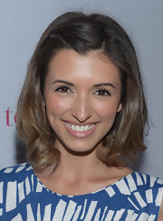 India de Beaufort looked adorable at a 'Nylon' magazine celebration with her bangs clipped back.
