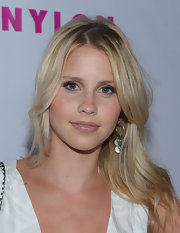 Claire Holt created her natural look by going just a shade darker than her natural lip color with this soft rose shade.