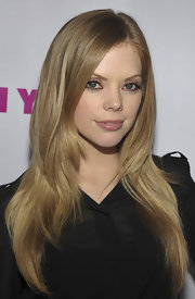 Dreama Walker wore her long layered tresses casually spilling over her shoulders while attending a celebration for 'Nylon' magazine's young Hollywood issue.