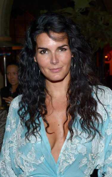 More Pics of Angie Harmon Long Wavy Cut (1 of 19) - Angie Harmon Lookbook - StyleBistro