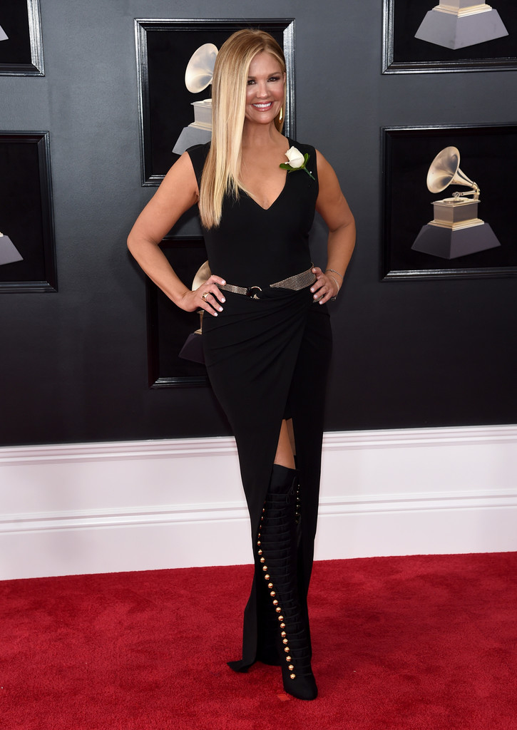 Nancy O Dell Over The Knee Boots Newest Looks Stylebistro