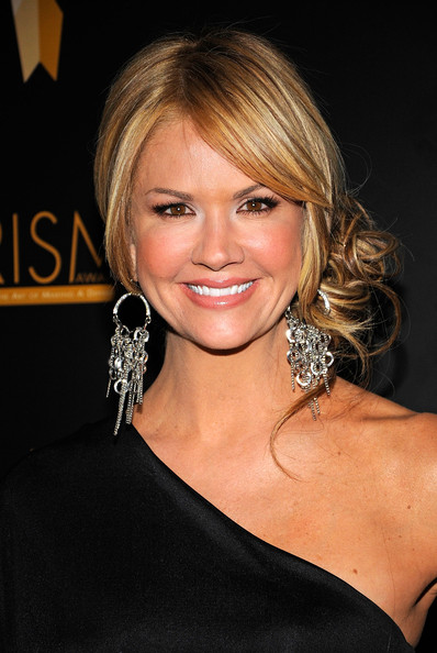 Nancy O'Dell Loose Bun