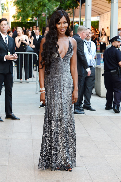 Naomi Campbell Beaded Dress
