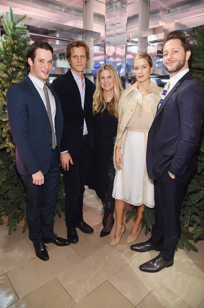 More Pics of Carolyn Murphy Henley (1 of 3) - Henley Lookbook - StyleBistro [close your eyes,suit,formal wear,event,tuxedo,white-collar worker,smile,businessperson,matt smith,naomi campbell,kristina oneill,carolyn murphy,magnus berger,nick brown,l-r,new york,think of christmas]