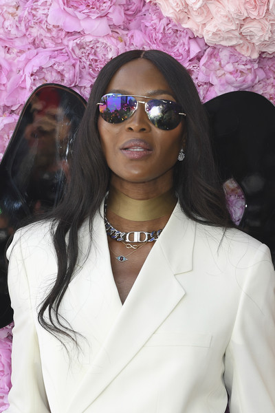 Naomi Campbell Silver Chain