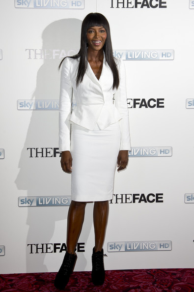 Naomi Campbell Skirt Suit