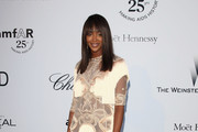 Naomi Campbell Is Fringey in Givenchy Couture at amfAR's Cinema Against AIDS Gala