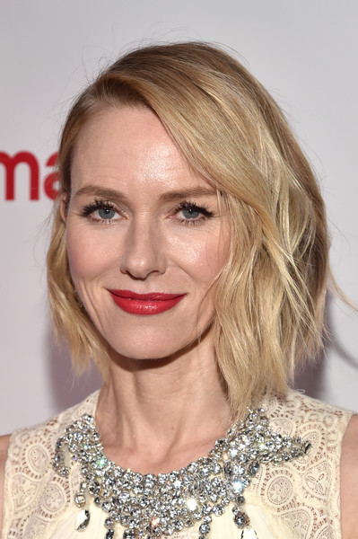 Naomi Watts Asymmetrical Cut [hair,eyebrow,blond,beauty,hairstyle,human hair color,fashion model,chin,lip,layered hair,naomi watts,actress,cinemacon big screen achievement awards,omnia nightclub,las vegas,nevada,caesars palace,coca-cola company,cinemacon 2017,convention]