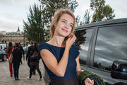Natalia Vodianova Buckled Purse