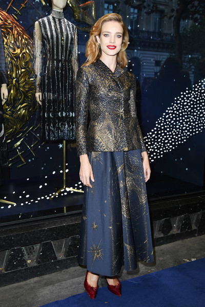 Natalia Vodianova Evening Pumps