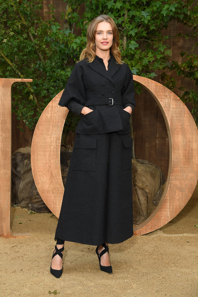 Natalia Vodianova Skirt Suit