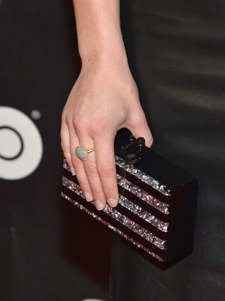 Natalie Dormer Hard Case Clutch