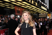 Natalie Dormer Little Black Dress