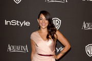 Natalie Martinez One Shoulder Dress