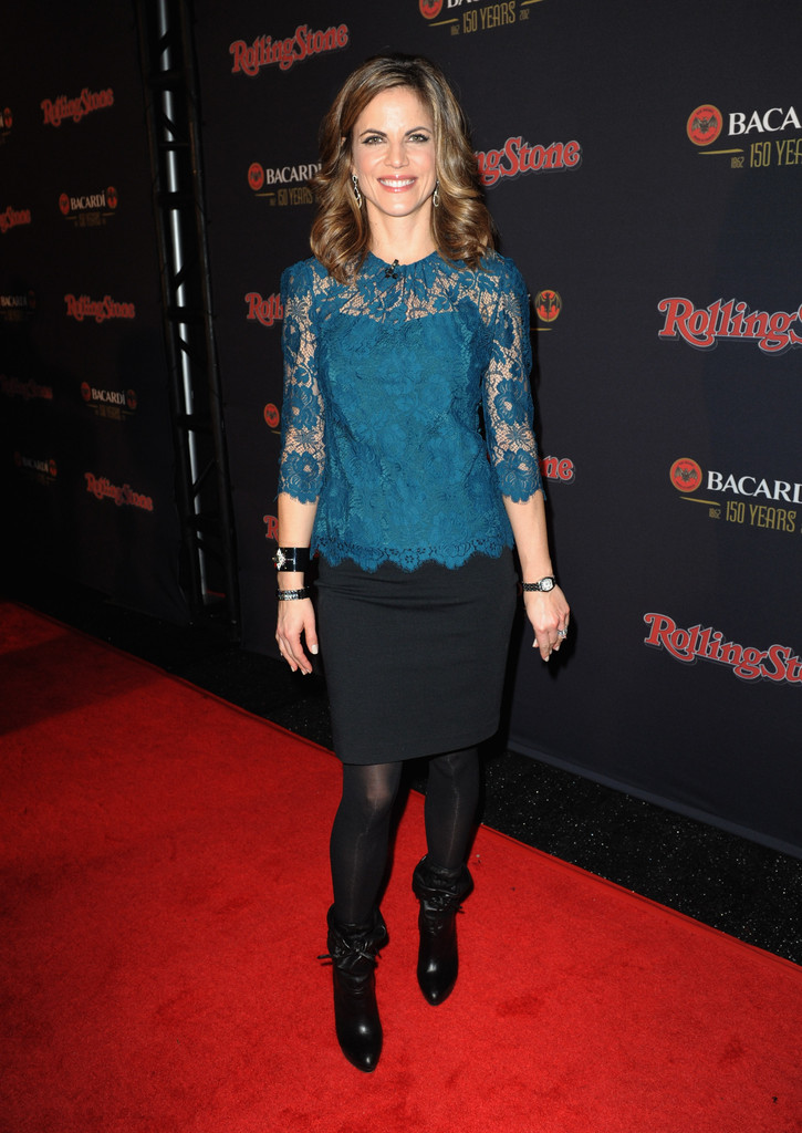 Natalie Morales Mid Calf Boots Natalie Morales Looks