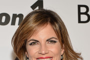 Natalie Morales Medium Curls with Bangs