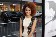 Nathalie Emmanuel Cocktail Dress