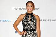 Nathalie Emmanuel Halter Dress