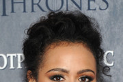 Nathalie Emmanuel Neutral Eyeshadow
