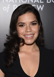 America Ferrera showed off the most perfectly sweet curls at the National Board of Review Gala.